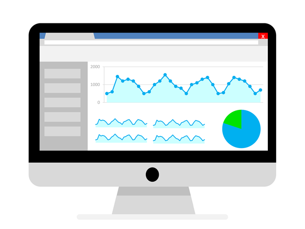 Check your website analytics with google analytics